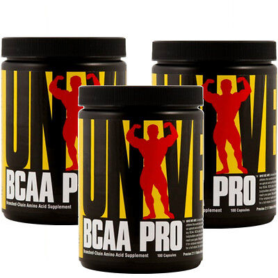 Universal Nutrition BCAA PRO 100/300 Capsules Branched Chain Amino Acid Protein