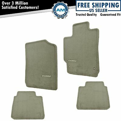 OEM PT206-32100-45 Floor Mat Set Brown Carpeted For 07-11 Toyota Camry