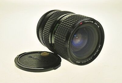 Canon Fd Mount Tokina AT-X ATX 28-85mm F3.5-4.5 Camera Lens