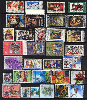 CHRISTMAS Thematic  Stamp Collection Mint USED Mini Sheets REF:TH52