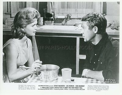 STEVE McQUEEN BABY THE RAIN MUST FALL 1965 VINTAGE PHOTO ORIGINAL #6