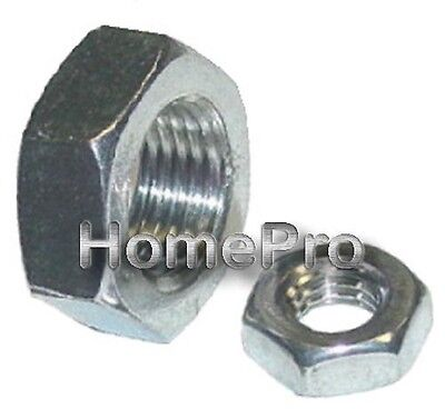 1/4-20 Stainless Hex Thin Jam Nuts