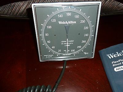 Welch Allyn Tycos Wall Mount Blood Pressure Cuff. Adult Size 11, 7670-01