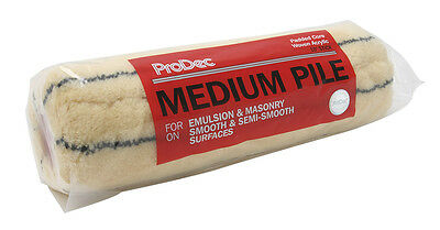 "ProDec 10"" Medium Pile Stick Roller Sleeve Paint Refill Tiger Stripe (PRRE024)"