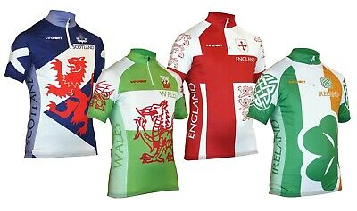 Impsport National Classic Scotland, Wales, Ireland & England Cycling Jersey NEW