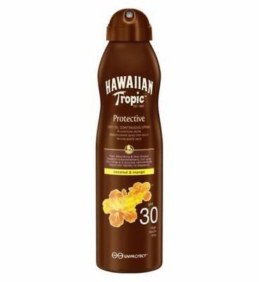 Hawaiian Tropic Continuous Spray Dry Oil SPF 30 180ml