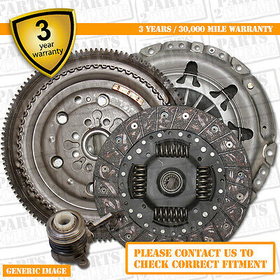 Ford Focus 2.5 St DMF Flywheel & Clutch Kit + CSC 05-11 Upgrade 300 Bhp St2 St3