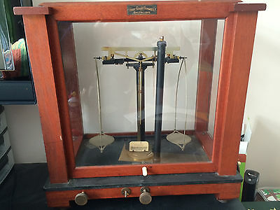 Antique Braun-Knecht-Heimann & Co.Balance Scale Pharmacy