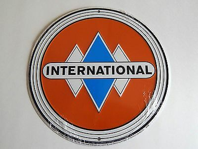 """New in Shrink Wrap, Circle """"International"""" Sign"""