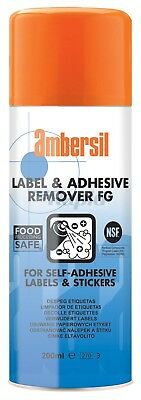 Ambersil 30254-AA Label & Adhesive Remover FG 200ml