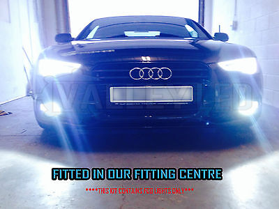 Audi A5 S5 07-on Smart Canbus H11 Fog Light HID Kit Metal Bulbs