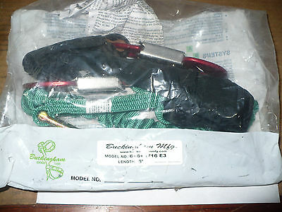 Lineman, Arborist Shock Absorbing Lanyard, Buckingham, 6', New