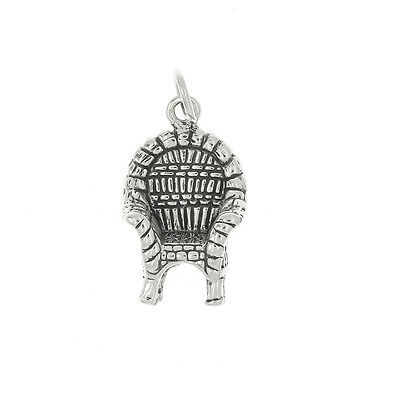 Sterling Silver Deck Chair Charm Or Pendant