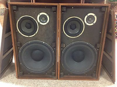 Electro Voice EV FOUR-A Speakers 12' Woofers RECONED & NEW FOAM - SOUND AMAZING