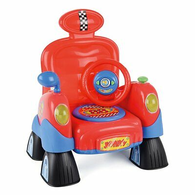 Toyrific Toddler Chair Interactive C/w Steering Wheels Lights Sounds Toddler New