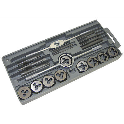 20 Piece Tap And Die Set Silver