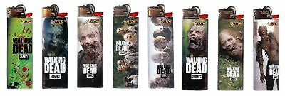 Walking Dead Bic Lighters 8pk Brand New Designs you get Exact Designs Pictured