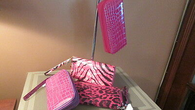 Lot of womens wallets never been used various colors