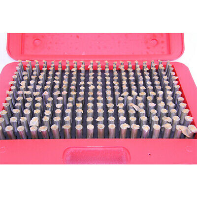 "New 125 Pc. M3 .501-.625"" Plug Pin Gage Set Minus (-) Steel .0002"" Tolerance"