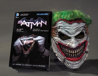 Batman: Death of the Family. Book and Joker Mask Set - 9781401249274 PORTOFREI