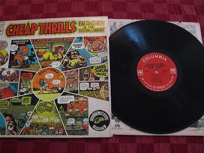 Classic Janis Joplin Big Brother & the Holding Co Cheap Thrills Vinyl Stereo LP