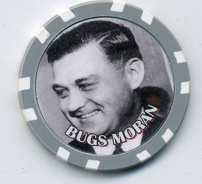 Bugs Moran  Gangster  Collector Chip