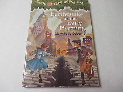 EARTHQUAKE IN THE EARLY MORNING Paperback by Mary Pope Osborne MAGIC TREE HOUSE