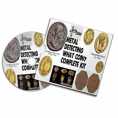 Metal Detecting Coin Identification Guide Resource Coin Token Finds Money Roman