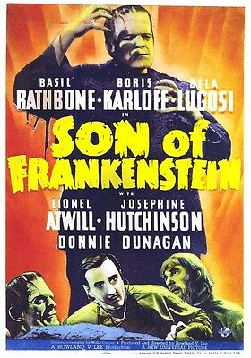 "The Ghost of Frankenstein Movie Poster Replica 13x19/"" Photo Print"