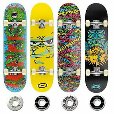 """Osprey Skateboard Stunt Double Kick Concave Board 31"""" X 8"""" Various Designs New"""