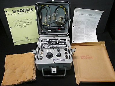 AN/GRM-55 TEST SET FOR  AN/PRC-25 AND AN/PRC-77 MILITARY RADIOS