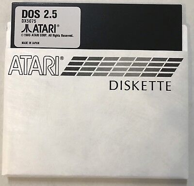 Disk 4 Atari DOS 2.5 Single Density(SD) Master 5 1/4 disks 800/XL/XE/810 New