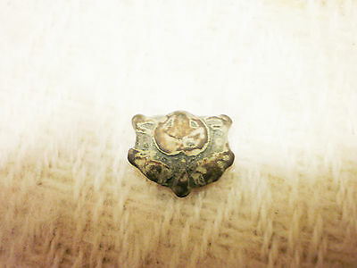 RARE ANCIENT Viking Bronze Belt Decoration 9 - 10 century AD  #8