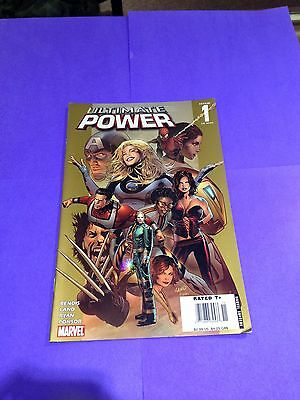 Ultimate Power Marvel comic book issue 1 of 9 2006 comic book