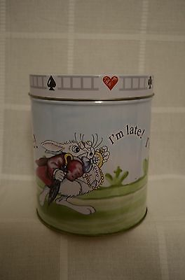 Alice In Wonderland Cafe 2007 Tin by Paul Cardew I'm Late! I'm Late!