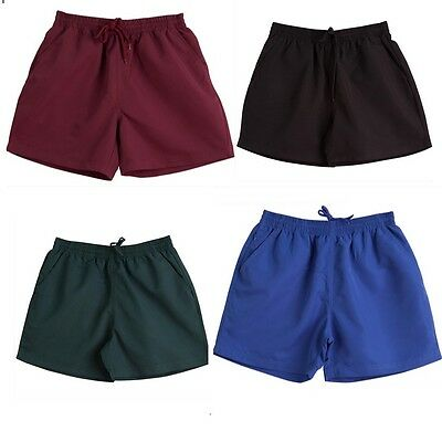 New Kids Boys Basketball Team Training Shorts Uniform Soccer Water Proof Elastic