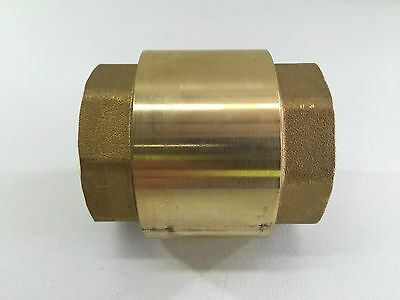"1 1/4"" inch Spring loaded Check Valve 32mm Check Valve Non Return Valve"
