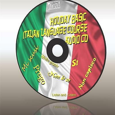 Learn Holiday Italian Easy Language Course For Car Home Work Etc New Audio Cd