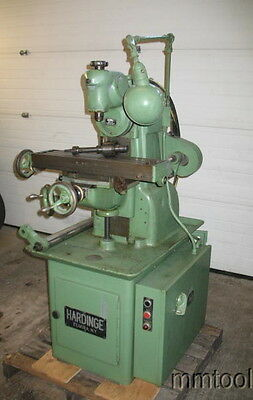 Hardinge Tm Um Horizontal Mill W/vertical Head Collets, Power Table Feed