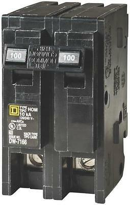 New Square D Hom2100Cp Homeline 100 Amp Double Pole Circuit Breakers 6721286