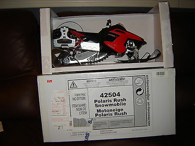 Polaris Rush Radio Controlled Snowmobile Indoor Outdoor Toy NEW in Box