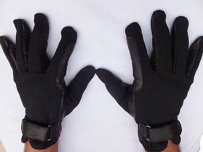 Horse Riding Gloves, Soft Leather Palm  Extra Comfortable Grip