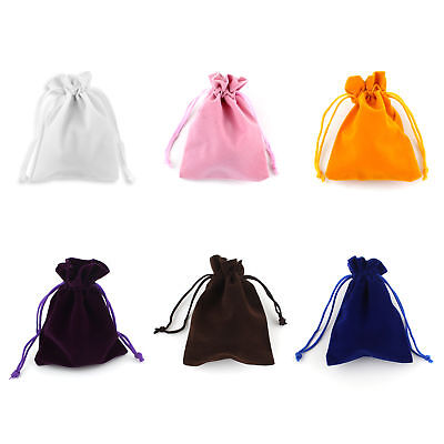 Gift Velvet Bag Small Drawstring for Jewelry Earrings Ring New x10 +Buckle