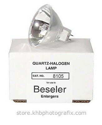 250W 82V Quartz-Halogen Enlarger Lamp for Beseler 4x5 Dichroic Colorheads