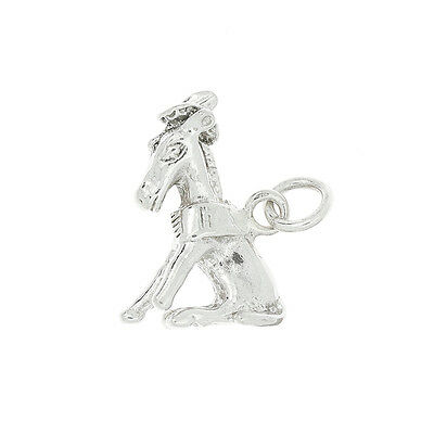 Sterling Silver Eeyore Donkey Charm Or Pendant