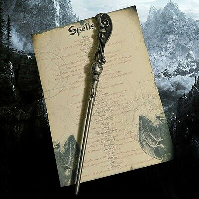 Fleur Delacour Wand with Spell list Great for Harry Potter Hogwarts fans