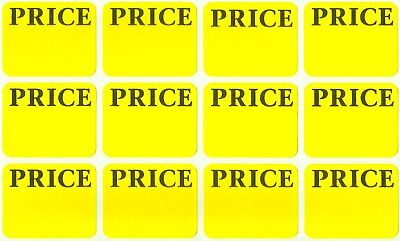 300 Yellow PRICE LABELS Removable Adhesive Price Tag STICKER Label AVERY 6752
