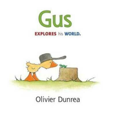 Gus by Olivier Dunrea (English) Hardcover Book Free Shipping!