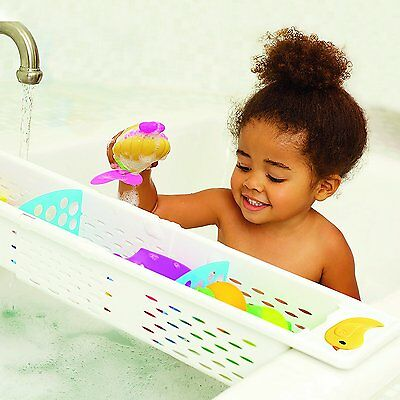Munchkin Secure Grip Bath Caddy -Toy Tidy - Keep Bath Tidy And Great For Playing