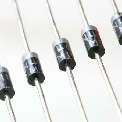 10 x 1N4001 50v 1A General Purpose Diodes IN4001 1N4000 DO41 - UK Free Postage